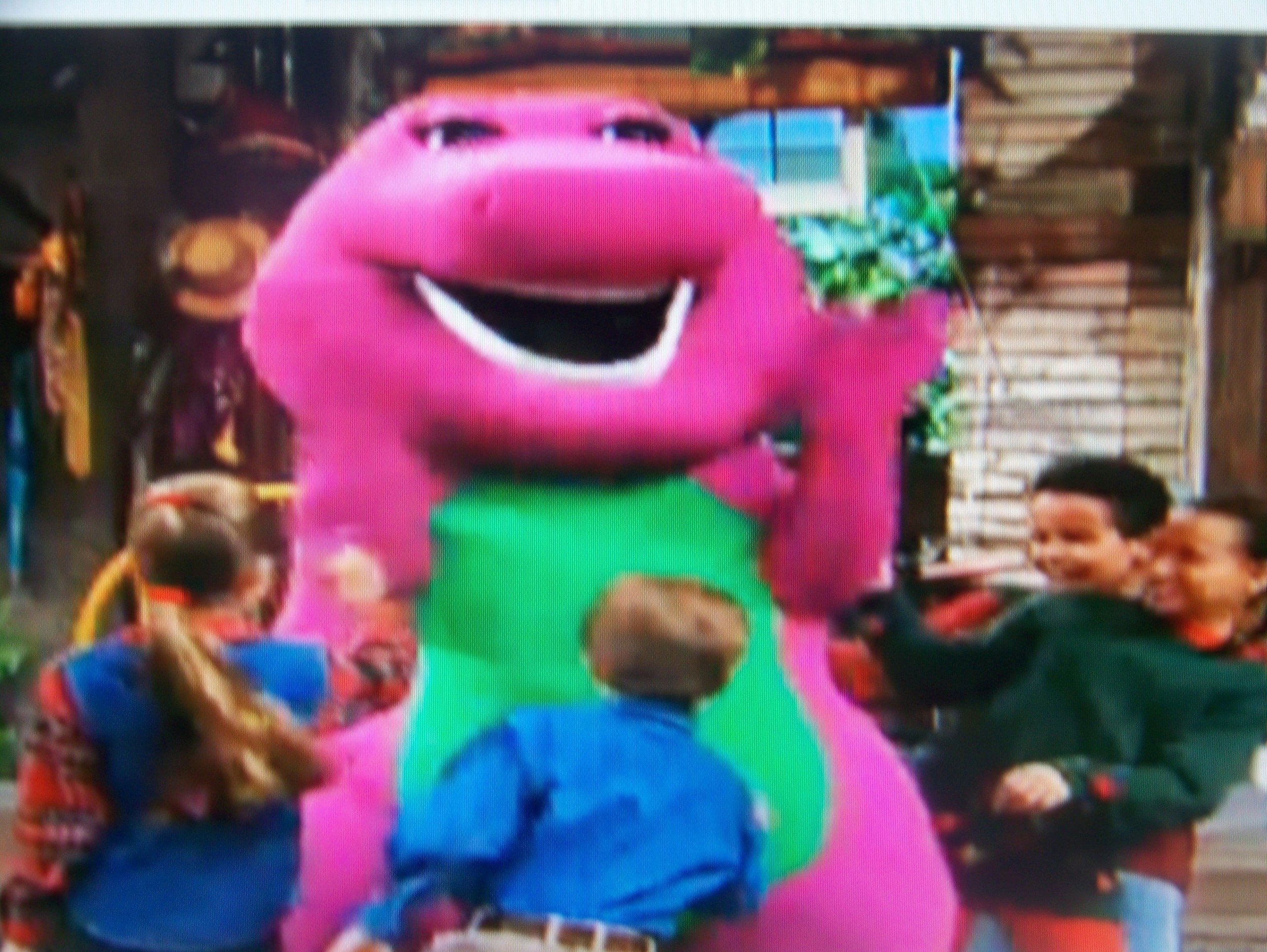 barney the purple dinosaur images everybody tickles barney hd