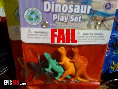 Fail toys