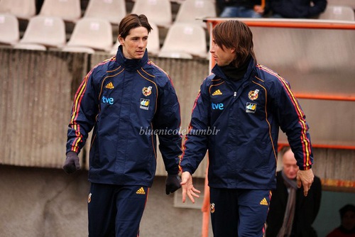 Fernando Training Spain NT in Lithuania