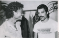 Freddie and Michael Jackson - freddie-mercury photo
