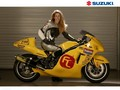 GIRL & SUZUKI - motorcycles wallpaper
