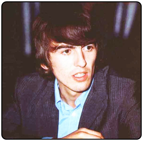 George! Give us a cute face !