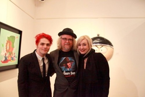 Gerard and Lindsey and Ron