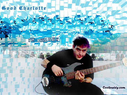 Good charlotte fond d'écran with an acoustic guitare titled Good charlotte fond d'écran
