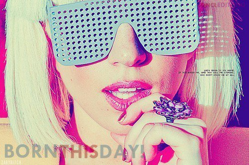 Happy Birthday, Lady Gaga! - lady-gaga Photo
