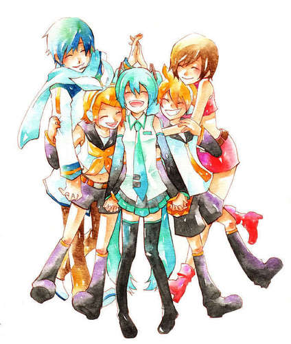 Happy VOCALOID Family !