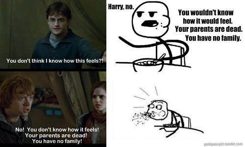 Harry, Ron, and Cereal Guy