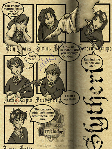 Hogwarts Yearbook