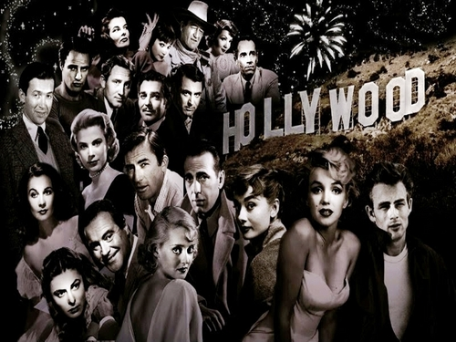 Classic Movies wallpaper probably containing a street titled Hollywood