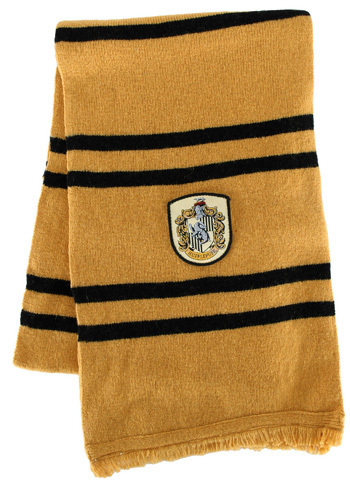 Hufflepuff scarf!