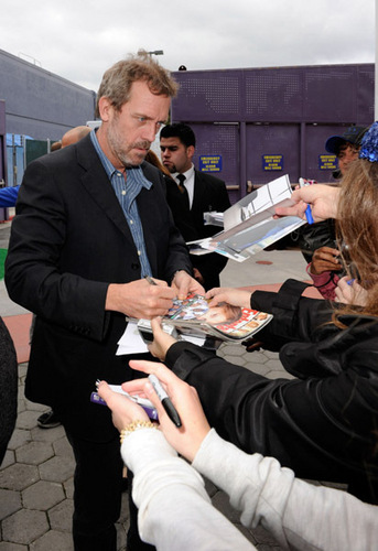 Hugh at the Hop Premiere 2011