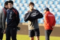 Hugo Lloris & Yoann Gourcuff - training/France NT (24.03.2011)