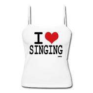 I 爱情 唱歌
