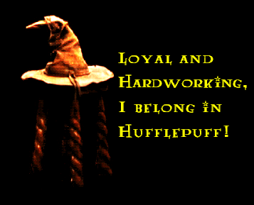Hogwarts House Rivalry! wallpaper possibly with a fur coat titled I belong in Hufflepuff!