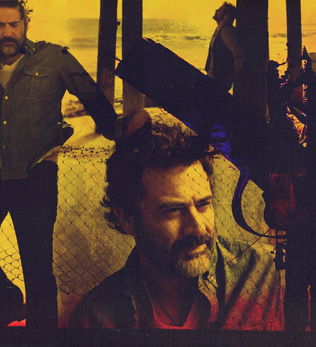 Jeffrey Dean Morgan wallpaper containing a guillotine entitled JDM;