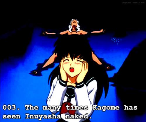 Kagome and Inuyasha♥