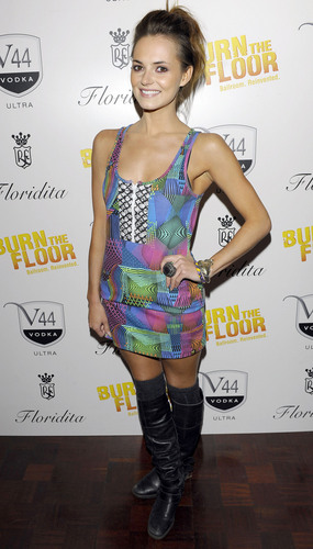 Kara-Burn the Floor Press Night