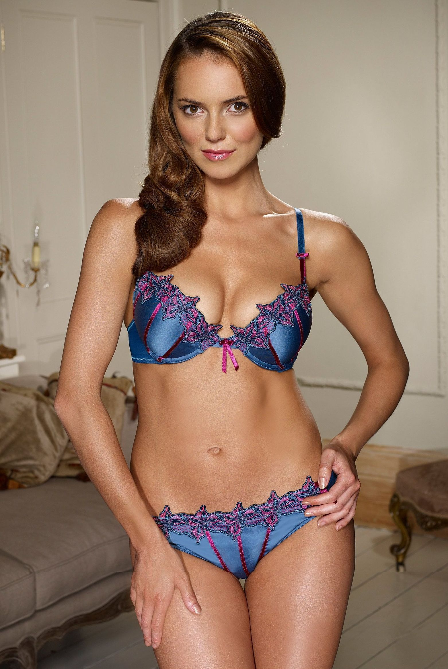 Kara Tointon Kara-Lingerie Photo Shoot