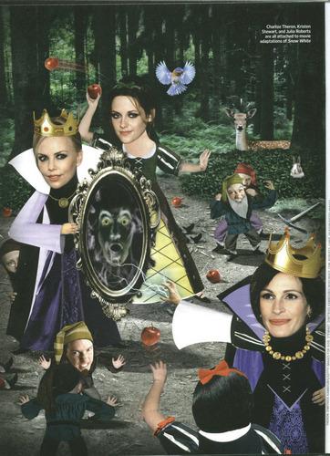 """Kristen Stewart & """"Snow White"""" in EW"""