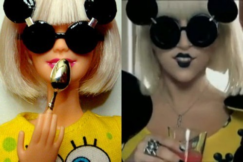 Lady Gaga Barbie Puppen