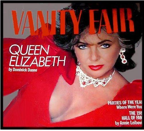 Elizabeth Taylor karatasi la kupamba ukuta possibly containing anime entitled Magazine Cover
