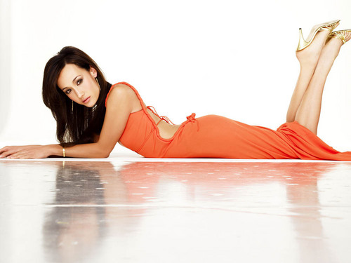 Maggie Q wallpaper possibly containing a chemise, a cocktail dress, and a leotard titled Maggie Q <3