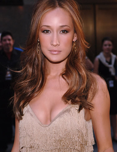 Maggie Q wallpaper possibly containing a cocktail dress and a portrait titled Maggie Q