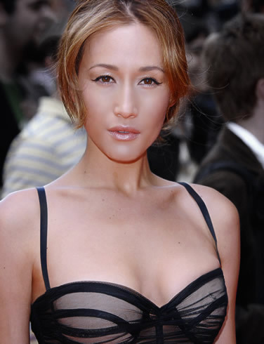 Maggie Q wallpaper possibly containing a portrait titled Maggie Q
