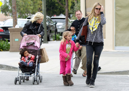 March 26: Out shopping In Brentwood