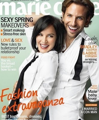 Bradley Cooper wallpaper possibly containing a portrait titled Marie Claire with Abbie Cornish