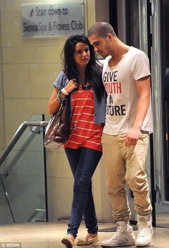 Maxchelle At Radisson Edwardian Hotel after Wanted performed at Manchester Apollo 100% Real :) x