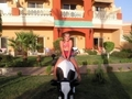 Me In Egypt Sitting On A Cow Lol 100% Real :) x