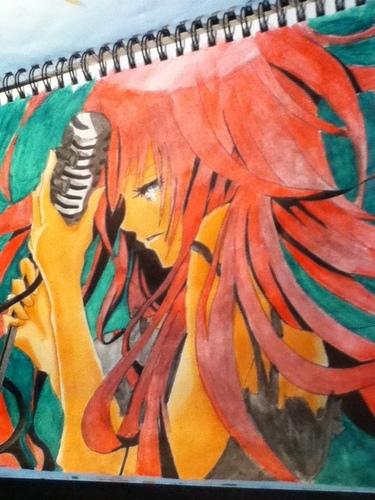 Megurine Luka Drawing