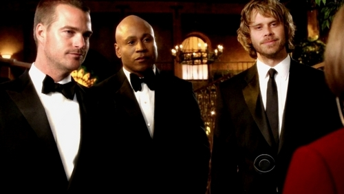 NCIS: Los Angeles 바탕화면 possibly containing a business suit, a suit, and a dress suit titled Men in black