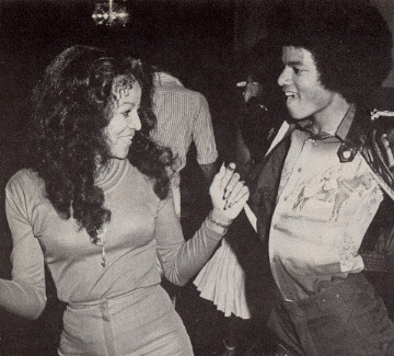 Michael Jackson and Diana Ross dancing lol! :)