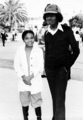 Michael and lil' sis Janet! Too cute! :) - michael-jackson photo
