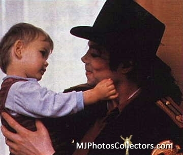 Michael with children's
