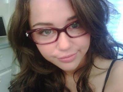 Miley cyrus glasses.