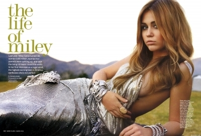 Miley Cyrus wallpaper with a portrait called Mileyy :x