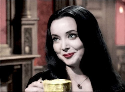 The Addams Family 1964 wallpaper titled Morticia Addams