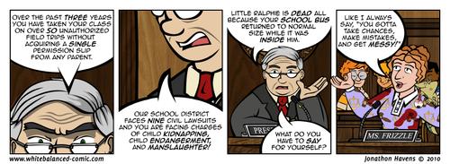 Mrs. Frizzle Lawsuit!