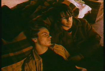 River Phoenix & Keanu Reeves hình nền probably containing anime entitled My own private Idaho
