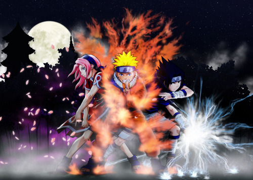 Naruto ,Sasuke and Sakura