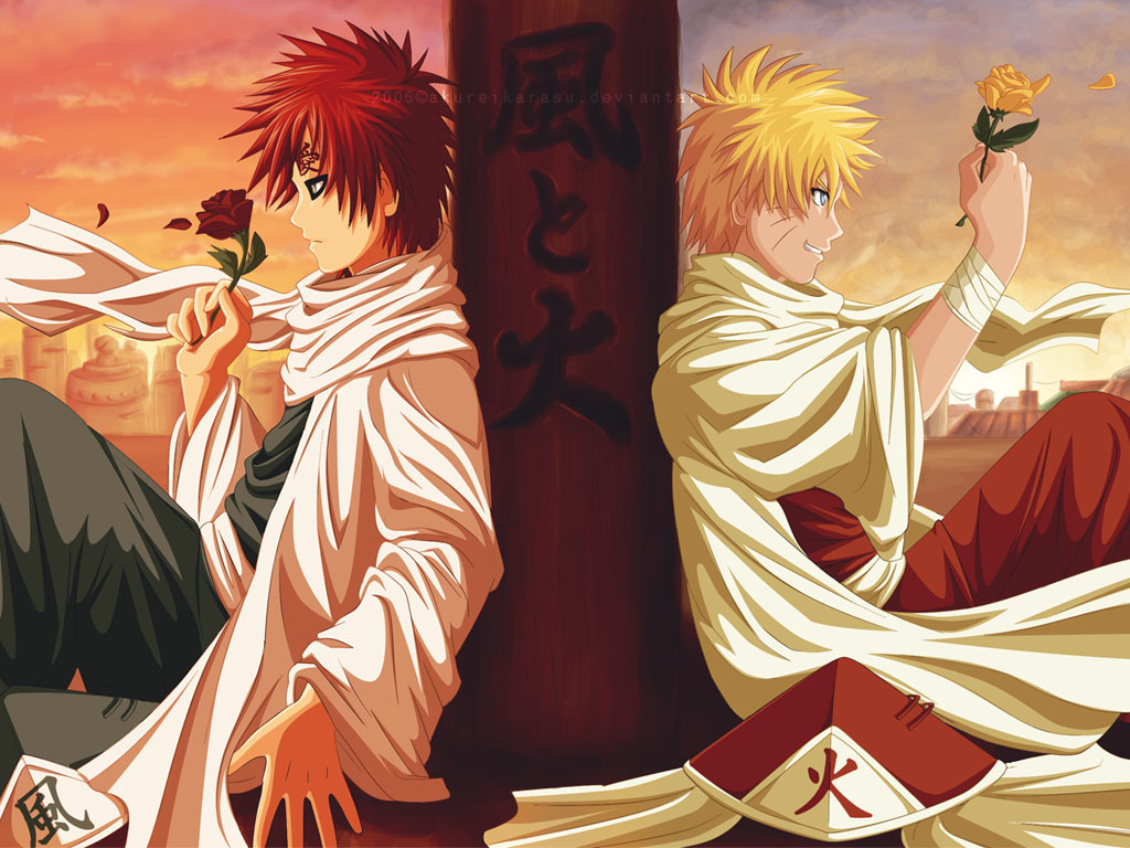 Naruto Shippuuden images Naruto and Gaara HD wallpaper and ...