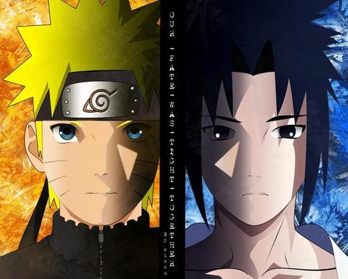 naruto shippuden wallpaper entitled naruto and Sasuke