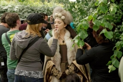 Natalie Dormer-Behind the Scenes