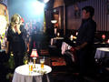 Nathan&amp;Stana BTS &lt;3 - nathan-fillion-and-stana-katic photo