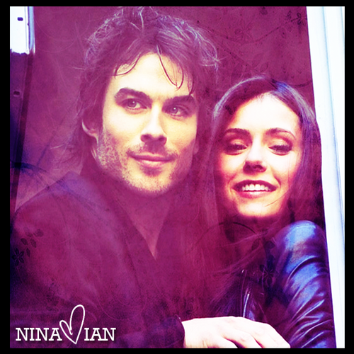 Nian. - damon-and-elena-and-ian-and-nina Fan Art