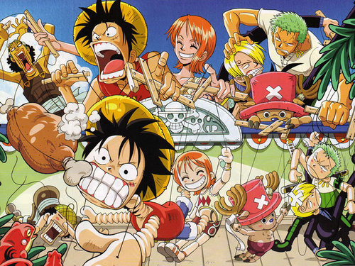 One Piece پیپر وال