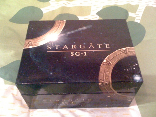 PACK DVDS STARGATE SG1